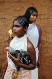 Dongria Kondh tribe's Women in Orissa-India Royalty Free Stock Photo