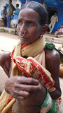 Dongria kondh woman. Orissa. India Royalty Free Stock Images