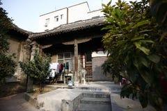 Zhengzhou Tianxiang Museum. In 2009, in Dongshima Village of Zhengzhou High-tech Zone, Renjia ancient residence was listed as the cultural relic protection unit stock photos