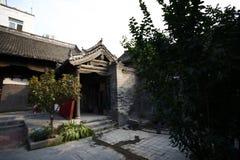 Zhengzhou Tianxiang Museum. In 2009, in Dongshima Village of Zhengzhou High-tech Zone, Renjia ancient residence was listed as the cultural relic protection unit stock photo