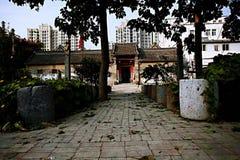 Zhengzhou Tianxiang Museum. In 2009, in Dongshima Village of Zhengzhou High-tech Zone, Renjia ancient residence was listed as the cultural relic protection unit stock photography