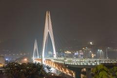 Dongshuiguan bridge at night Stock Photo