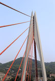 The dongshuimen cable-stayed bridge. East watergate (dongshuimen) cable-stayed bridge, chongqing city, china stock photo