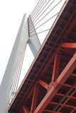 Dongshuimen cable-stayed bridge Stock Photo