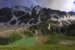 Donguz Orun Lake Stock Photo