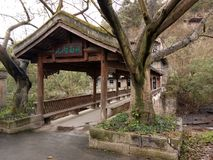 Dongxi stad Chongqing China royaltyfria foton