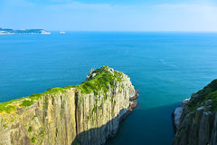 DongYin Coast line ,Matsu. Taiwan Royalty Free Stock Photo