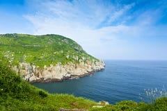 dongYin wybrzeża linia, Matsu, Tajwan Zdjęcia Stock