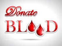 doni il sangue, gocce rosse di concetto medico di donazione di sangue royalty illustrazione gratis