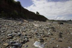 Doniford beach,  Exmoor, UK Royalty Free Stock Photos