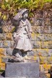 Doniosły miejsce Byakkutai w Aizuwakamatsu, Japonia obrazy stock