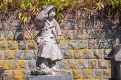 Doniosły miejsce Byakkutai w Aizuwakamatsu, Japonia obraz royalty free