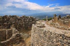 Doniosły okrąg w Mycenae obraz royalty free