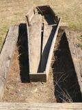 Doniosły szkatuła grobowiec zdjęcie royalty free