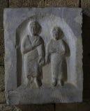 Doniosła stela od Nisyros Obraz Royalty Free