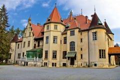 Donji Miholjac slott i natur Royaltyfri Bild