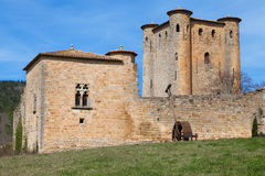 Donjon Arques. Donjon of Arques, Aude, Languedoc-Roussillon, France stock photography