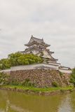 Donjon av den Kishiwada slotten, Japan Royaltyfria Foton