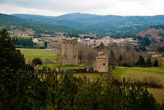 Donjon d'Arques, France Royalty Free Stock Photography