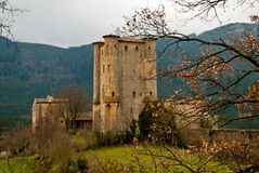 Donjon d'Arques, France Royalty Free Stock Image