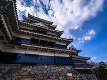 Donjon de château de Matsumoto photographie stock