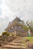 Donjon del castello di Echizen Ohno a Ohno, Giappone Fotografie Stock Libere da Diritti