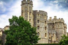 Donjon - a grande torre ou o mais íntimo mantêm-se de Windsor Castle medieval Fotos de Stock