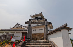 Donjon of Kakegawa Castle, Shizuoka Prefecture, Japan Royalty Free Stock Photos