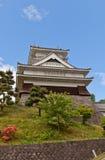 Donjon of Kaminoyama Castle, Yamagata Prefecture, Japan. Main Keep & x28;donjon& x29; of Kaminoyama Castle, Japan. Castle was founded in 1535 by Takenaga royalty free stock photos