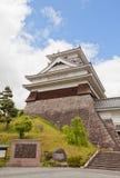 Donjon of Kaminoyama Castle, Yamagata Prefecture, Japan. Main Keep & x28;donjon& x29; of Kaminoyama Castle, Japan. Castle was founded in 1535 by Takenaga royalty free stock images