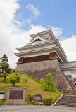 Donjon of Kaminoyama Castle, Yamagata Prefecture, Japan Royalty Free Stock Images