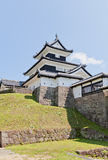 Donjon of Shirakawa Komine Castle, Fukushima Prefecture, Japan Royalty Free Stock Images