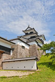 Donjon of Shirakawa Komine Castle, Fukushima Prefecture, Japan Royalty Free Stock Image