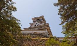 Donjon (tenshukaku) del castello del Kochi, città del Kochi, Giappone Fotografia Stock Libera da Diritti