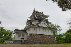 Donjon of Yokote Castle, Akita Prefecture, Japan Stock Photos