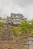 Donjon of Yoshida Castle, Aichi Prefecture, Japan. Reconstructed Main Keep donjon of Yoshida Castle, Japan. Castle was founded in 1505 by Makino Kohaku stock photography