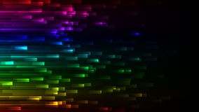 Donker abstract kleurrijk behang Neon vectorachtergrond Vector Illustratie