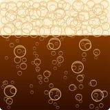 Donker bier. stock illustratie