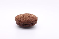 Donker chocoladekoekje Royalty-vrije Stock Afbeelding