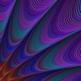 Donker computer geproduceerd fractal art. als achtergrond royalty-vrije illustratie