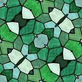 Donker creatief caleidoscooppatroon, naadloze textuur met bloemornamenten, abstracte uitstekende achtergrond royalty-vrije illustratie