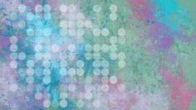 Donker digitaal abstract behang met bokeh stock illustratie