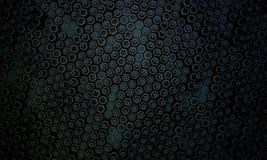 Donker hexagon patroon 2 Stock Afbeeldingen