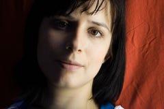 Donker portret Royalty-vrije Stock Afbeelding