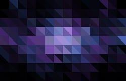 Donker Purper vectorveelhoek abstract malplaatje Kleurrijke abstracte illustratie met gradiënt Stock Afbeelding