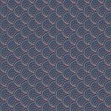 Donker shell patroon Gebaseerd op Traditioneel Japans Borduurwerk Abstract Naadloos Patroon Royalty-vrije Stock Afbeeldingen