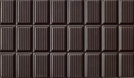 Donker van het de tabletpatroon van de Chocolade de textuurbehang Royalty-vrije Stock Foto's
