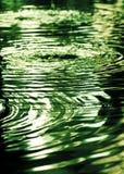 Donker water Stock Foto