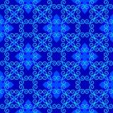 Donkerblauw gevoelig patroon Stock Fotografie