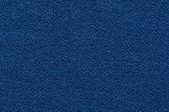 Donkerblauw Jean Fabric Texture Pattern Stock Foto's